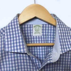BROOKS BROTHERS Classic Dress Shirt 16.5 / 33.5